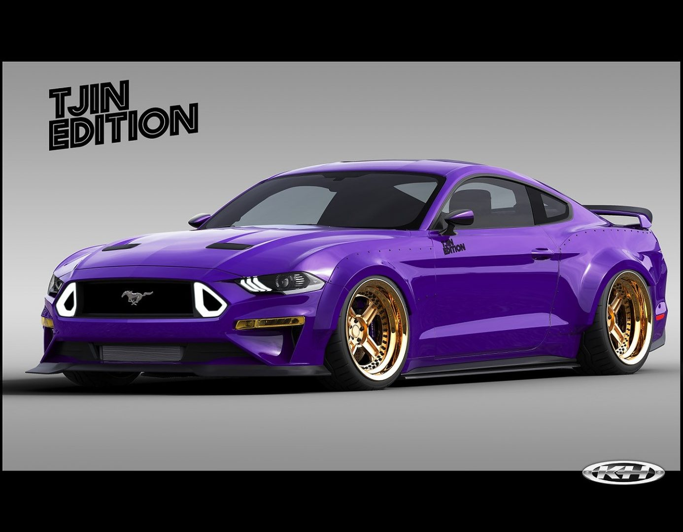 TJIN Edition EcoBoost Mustang | Photo: Ford