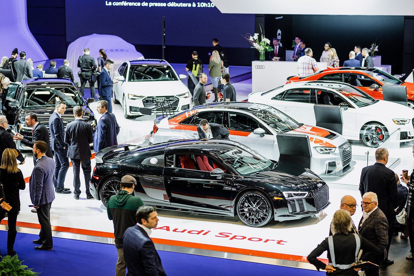 Audi booth | Photo: Olivier Delorme