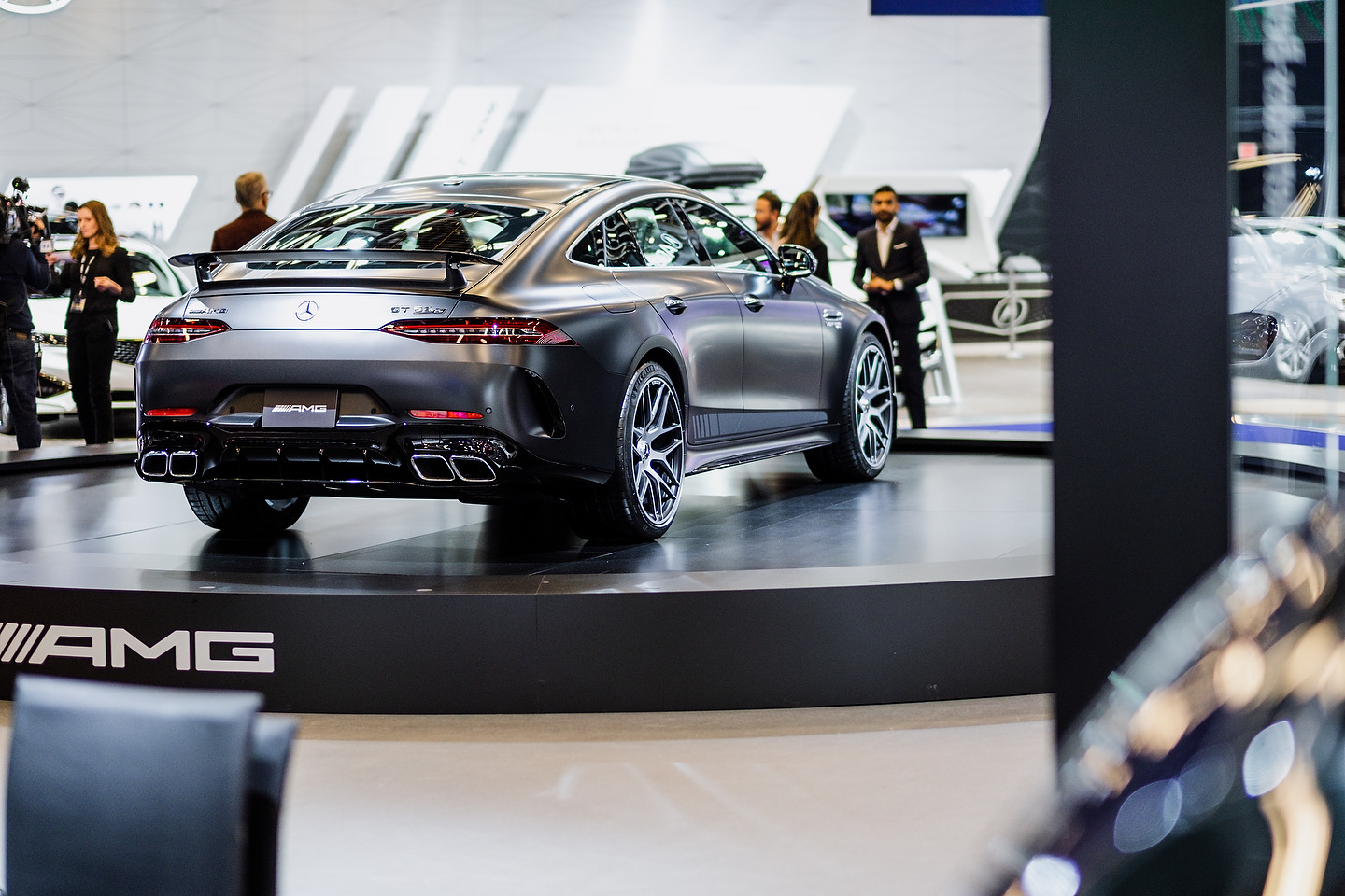 2019 Mercedes-AMG GT 63S 4MATIC | Photo: Olivier Delorme