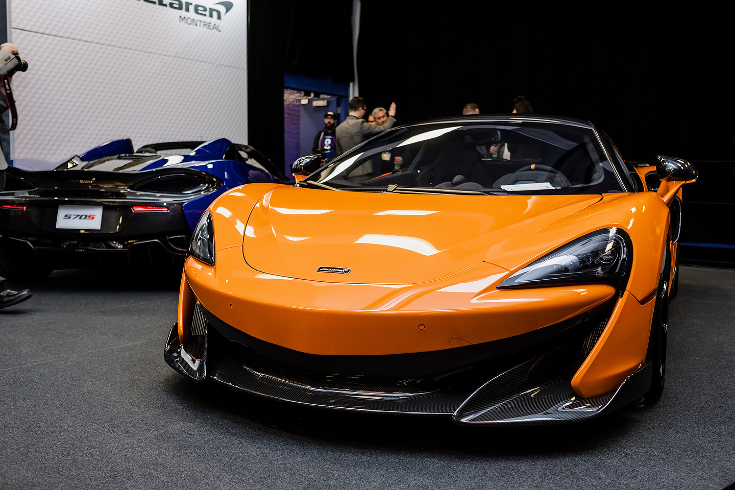 McLaren booth | Photo: Olivier Delorme