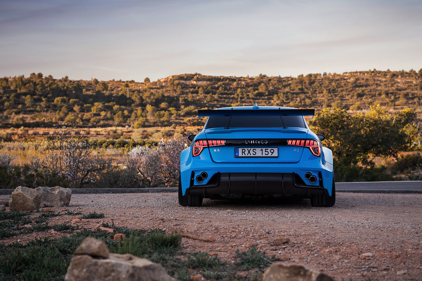 Lynk and Co 03 Cyan Concept