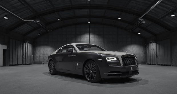 Rolls-Royce Wraith Eagle VIII: un hommage à l'aviation civile