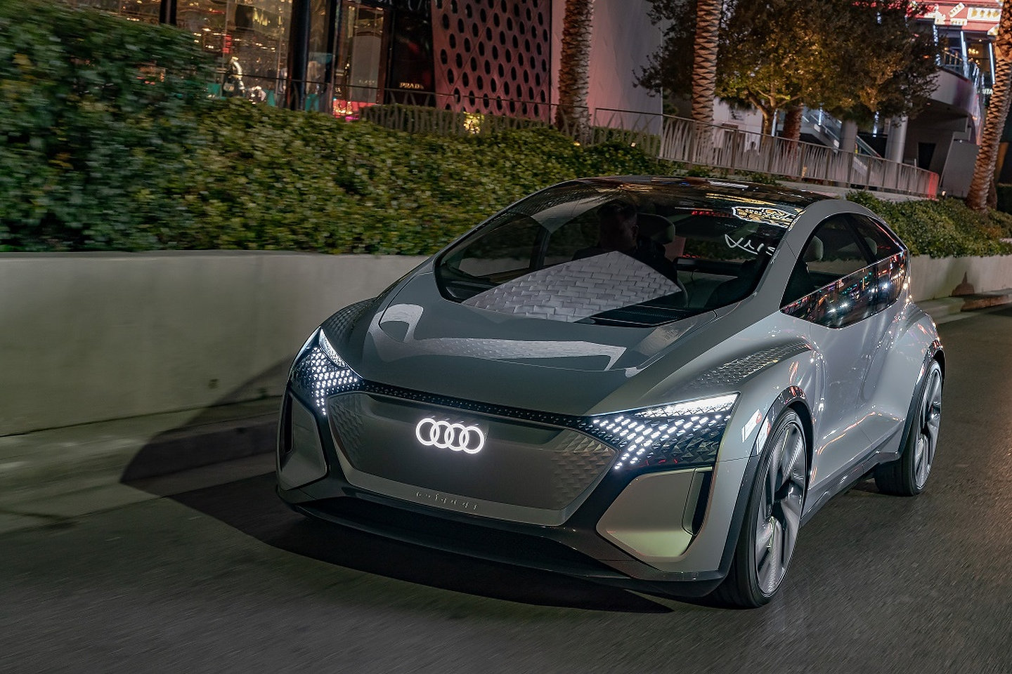 The Audi AI:ME at CES 2020