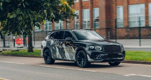 Le Bentley Bentayga Speed 2021 aperçu avant son dévoilement