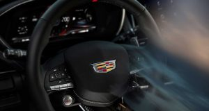 Cadillac publie une photo du volant Blackwing